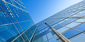 Sonnenschutz Sichtschutz Gebäude Unternehen
