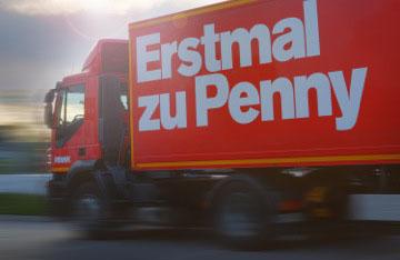 KFZ-Beschriftung für Penny Fahrzeuge